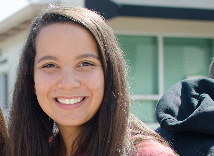 Our STUDENTS: CLAIRE KELLY '17
