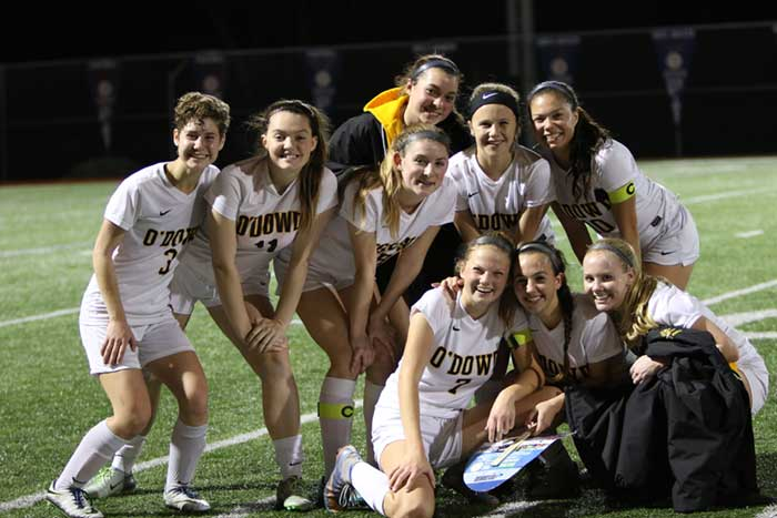 The women's soccer team captured the West Alameda County-Foothill  Conference title in historic fashion, becoming the first team since the  league was formed ...