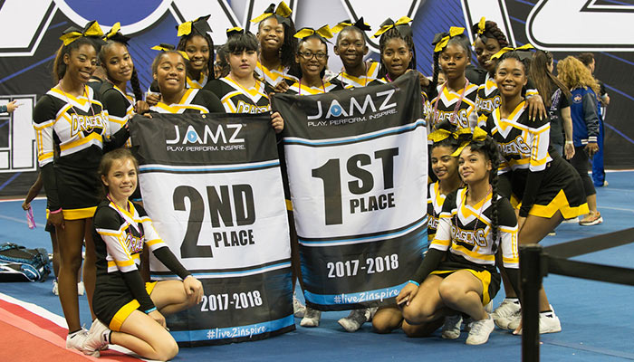 Students parents portal archives bishop odowd high school congratulations to the varsity cheer team for their 1st place finish in sideline cheer and 2nd place finish in show cheer at the jamz regional cheer fandeluxe Gallery