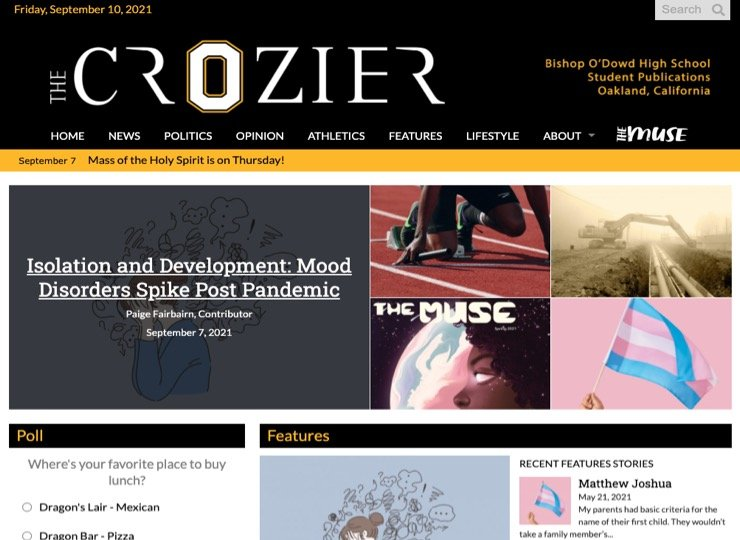 Crozier cover